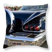 1958 Chevy Impala Rear Quater Throw Pillow