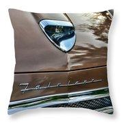 1958 Ford Fairlane 500 Skyliner Throw Pillow