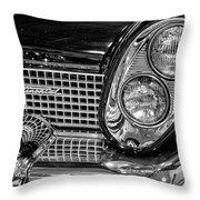 1958 Lincoln Continental Headlight Throw Pillow
