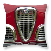 1959 Alfa Romeo Giulietta Sprint Grille Throw Pillow