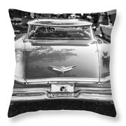 1959 Buick Electra 225 Bw Throw Pillow