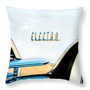 1959 Buick Electra Emblem Throw Pillow