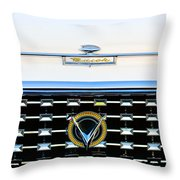 1959 Buick Lesabre Hood Ornament Throw Pillow
