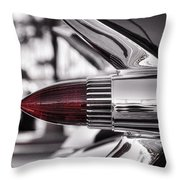 1959 Cadillac Eldorado Tailight Throw Pillow