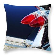 1959 Cadillac Eldorado Taillight -075c Throw Pillow