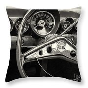 1959 Chevrolet Dash Throw Pillow
