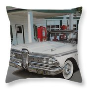 1959 Edsel Ranger Throw Pillow