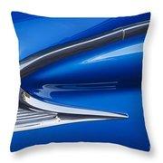 Blue Galaxie Throw Pillow