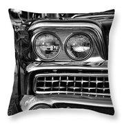 1959 Ford Fairlane 500 Throw Pillow