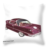 Imperial By Chrysler Throw Pillow