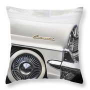 1959 Lincoln Continental Throw Pillow