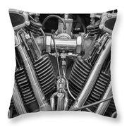 1959 Morgan Throw Pillow