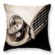 1960 Ac Aceca Grille Emblem -0058s Throw Pillow