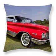 1960 Buick Electra 225 Throw Pillow