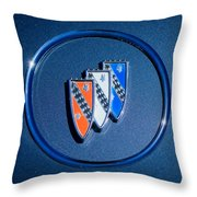 1960 Buick Lesabre Series 4400 Convertible Emblem Throw Pillow