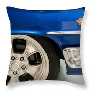 1960 Chevrolet Bel Air 2 012315 Throw Pillow
