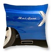 1960 Chevrolet Bel Air 3 012315 Throw Pillow