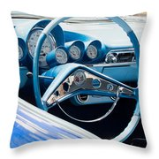 1960 Chevrolet Bel Air 4 012315 Throw Pillow