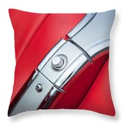 1960 Chevrolet Corvette Compartment Throw Pillow