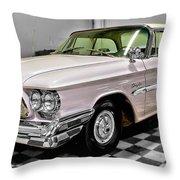 1960 Chrysler Windsor Throw Pillow