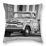1960 Ford F-250 Throw Pillow