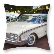 1960 Ford Starliner Throw Pillow
