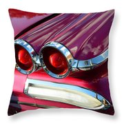 1960 Jet Engine Styling Throw Pillow
