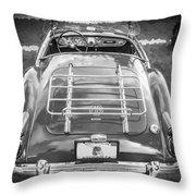 1960 Mga 1600 Convertible Bw Throw Pillow