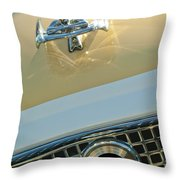1960 Nash Metropolitan 3 Throw Pillow