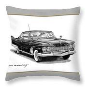 Plymouth Fury Throw Pillow