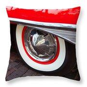 1960 Starliner Throw Pillow