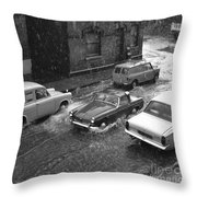 1960's Classic Cars    Ref-252 Throw Pillow