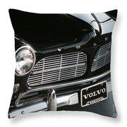1960's Volvo Throw Pillow