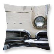 1961 Corvette Throw Pillow