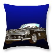 1961 Ferrari 250 G T California Throw Pillow