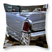 1961 Lincoln Continental Taillight Throw Pillow