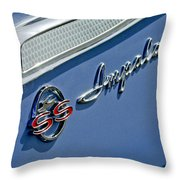 1962 Chevrolet Impala Emblem Throw Pillow