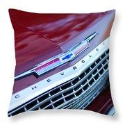 1962 Chevrolet Impala Ss Grille Throw Pillow