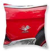 1962 Chevy Impala 409 Throw Pillow