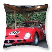 1962 Ferrari 250 Gto  Throw Pillow