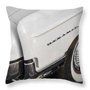 1962 Oldsmobile Dynamic 88 Throw Pillow