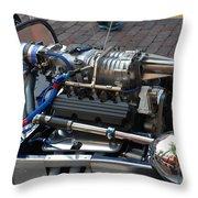 1962 V6 Lotus Engine Throw Pillow
