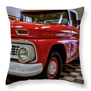 1963 Chev Pick Up Throw Pillow