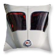 1963 Chevrolet Corvette Split Window -399c Throw Pillow