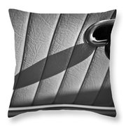 1963 Chevrolet Corvette Split Window Door Latch -295bw Throw Pillow