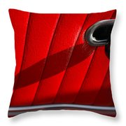 1963 Chevrolet Corvette Split Window Door Latch -295c Throw Pillow