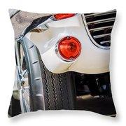 1963 Chevrolet Corvette Split Window Grille -209c Throw Pillow