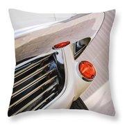 1963 Chevrolet Corvette Split Window Grille -221c Throw Pillow