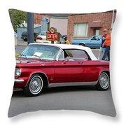 1963 Corvair Throw Pillow