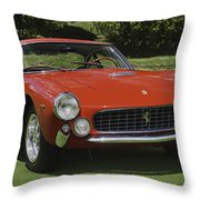 1963 Ferrari 250 Gt Lusso Throw Pillow